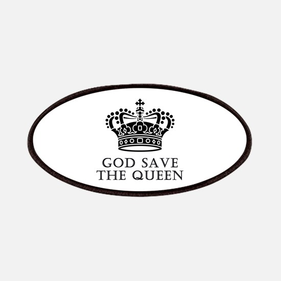 God Save The Queen Patches