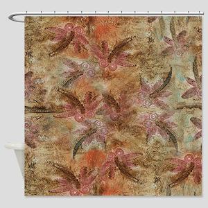 Dragonfly Heat Shower Curtain