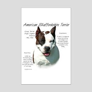 AmStaff Terrier Mini Poster Print