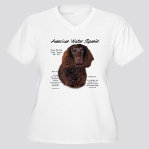 American Water Sp Women's Plus Size V-Neck T-Shirt
