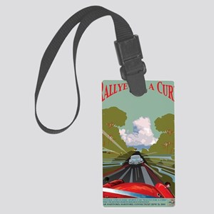Rallye for a Cure Poster for 201 Large Luggage Tag
