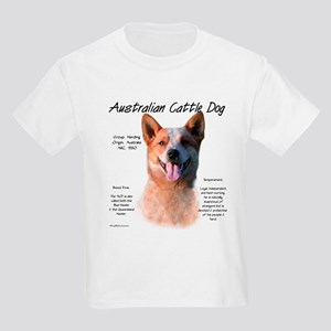 Cattle Dog (red) Kids Light T-Shirt