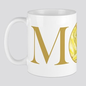MOM yellow rose Mug