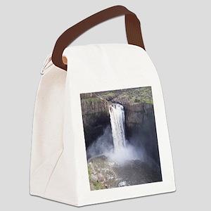 Palouse Falls Canvas Lunch Bag