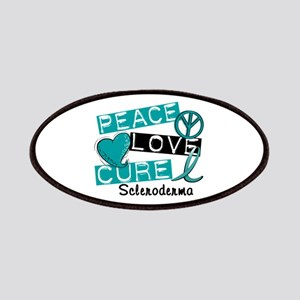 Scleroderma Peace Love Cure 1 Patches