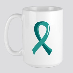 Scleroderma Ribbon 3 Large Mug