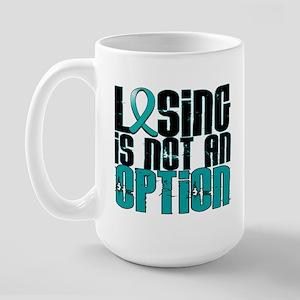 Scleroderma Losing Not Option Large Mug