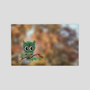 Lifes a Hoot Owl 3'x5' Area Rug