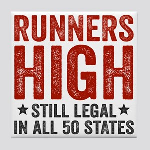 Runners High Still Legal In All 50 St Tile Coaster