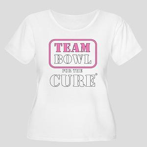 TEAM Bowl for Women's Plus Size Scoop Neck T-Shirt