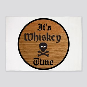 WHISKEY TIME 5'x7'Area Rug