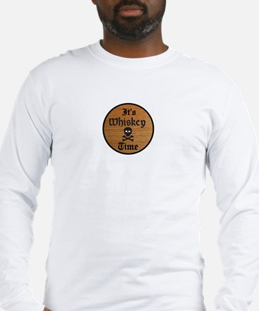 WHISKEY TIME Long Sleeve T-Shirt