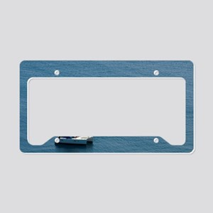 Luxury sailing catamaran License Plate Holder