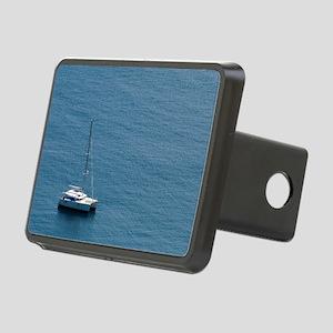 Luxury sailing catamaran Rectangular Hitch Cover