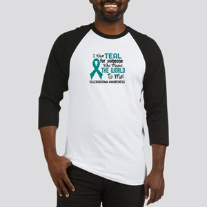 Scleroderma Means World To Me 2 Baseball Jersey