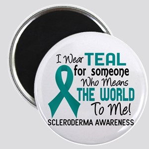 Scleroderma Means World To Me 2 Magnet