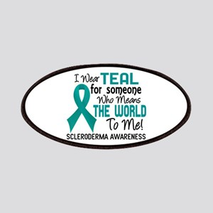 Scleroderma Means World To Me 2 Patches