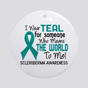 Scleroderma Means World To Me 2 Ornament (Round)