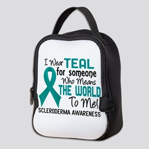 Scleroderma Means World To Me 2 Neoprene Lunch Bag