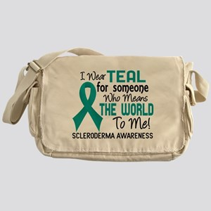 Scleroderma Means World To Me 2 Messenger Bag
