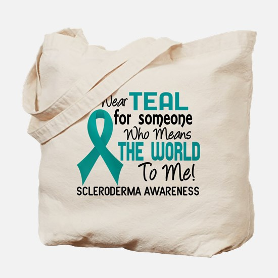Scleroderma Means World To Me 2 Tote Bag