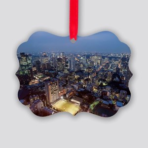 tokyo football Picture Ornament