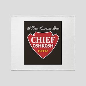 Chief Oshkosh Throw Blanket