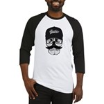 Skull Brooklyn Cap Baseball Jersey