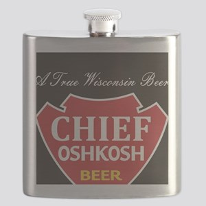 Oshkosh Brewing Company Emblem Flask