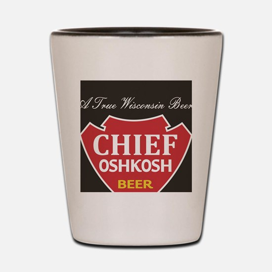 Oshkosh Brewing Company Emblem Shot Glass