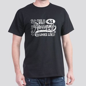 41st Birthday Dark T-Shirt
