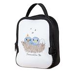 Baby Bird Neoprene Lunch Bag