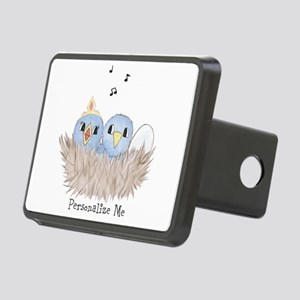 Baby Bird Rectangular Hitch Cover