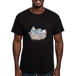 Baby Bird Men's Fitted T-Shirt (dark)