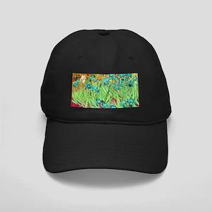 van gogh teal irises Baseball Hat