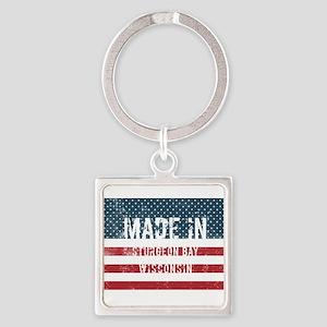 Made in Sturgeon Bay, Wisconsin Keychains