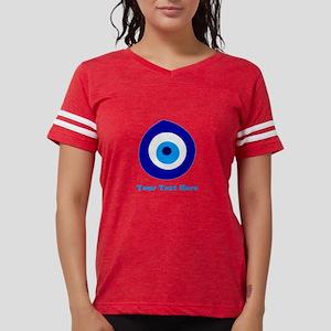Evil Eye Magic Personalized Womens Football Shirt