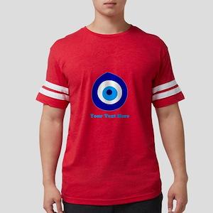 Evil Eye Magic Personalized Mens Football Shirt
