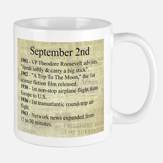 September 2nd Mugs