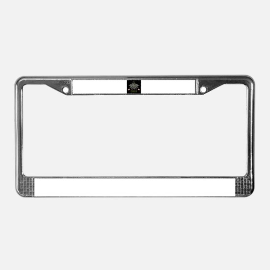 I Believe In Camelot License Plate Frame