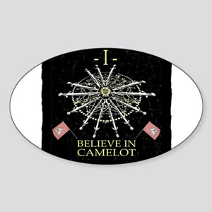 I Believe In Camelot Sticker