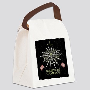 I Believe In Camelot Canvas Lunch Bag
