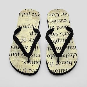 October 31st Flip Flops