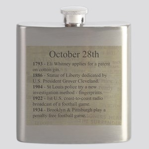October 28th Flask