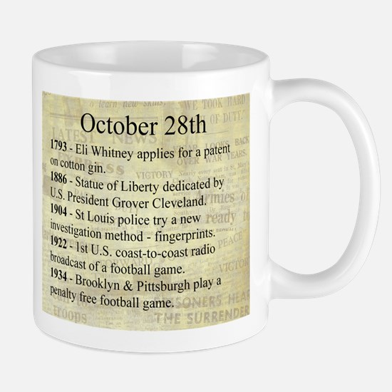 October 28th Mugs