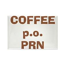 Coffee p.o. PRN Rectangle Magnet