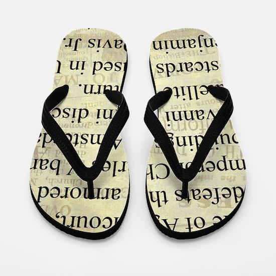 October 25th Flip Flops