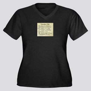 October 25th Plus Size T-Shirt