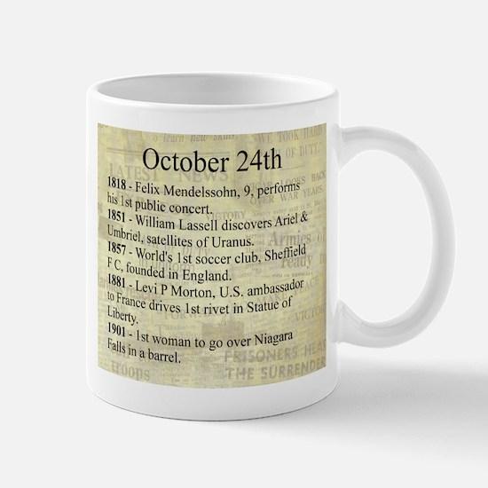 October 24th Mugs