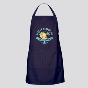 Life's Better At The Beach Apron (dark)